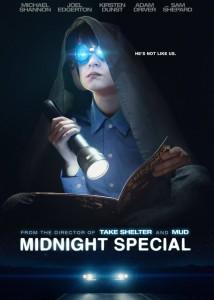 "Recenzja filmu ""Midnight Special"" (2016), reż. Jeff Nichols."