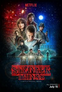 """Recenzja serialu """"Stranger things"""" (2016), reż. Matt Duffer, Ross Duffer."""