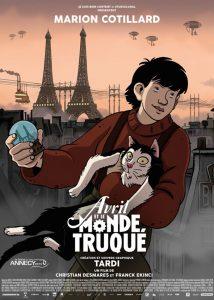 "Recenzja filmu ""Niesamowity świat April"", reż. Christian Desmares, Franck Ekinci"