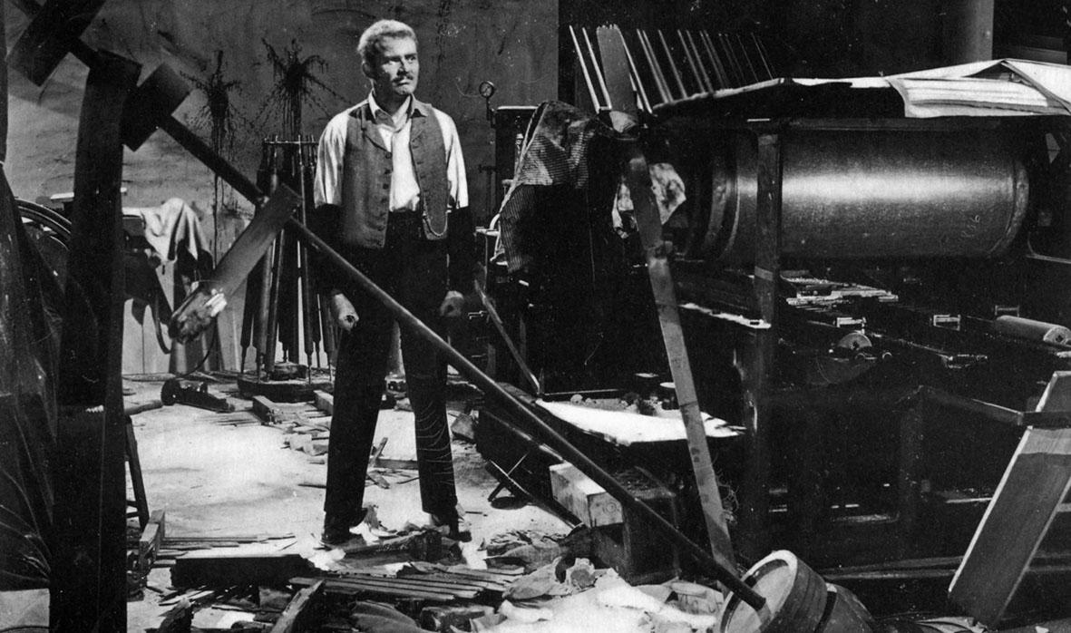 """Recenzja filmu """"Park Row"""" (1952), reż. Samuel Fuller"""