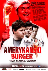 Amerykański burger (2014) reż. Johan Bromander, Bonita Drake