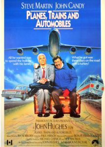 Samoloty, pociągi i samochody (1987), reż. John Hughes