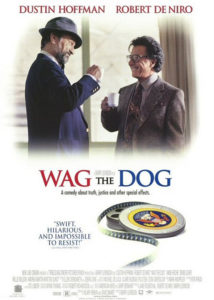 Wag the dog / Fakty i akty (1997), reż. Barry Levinson