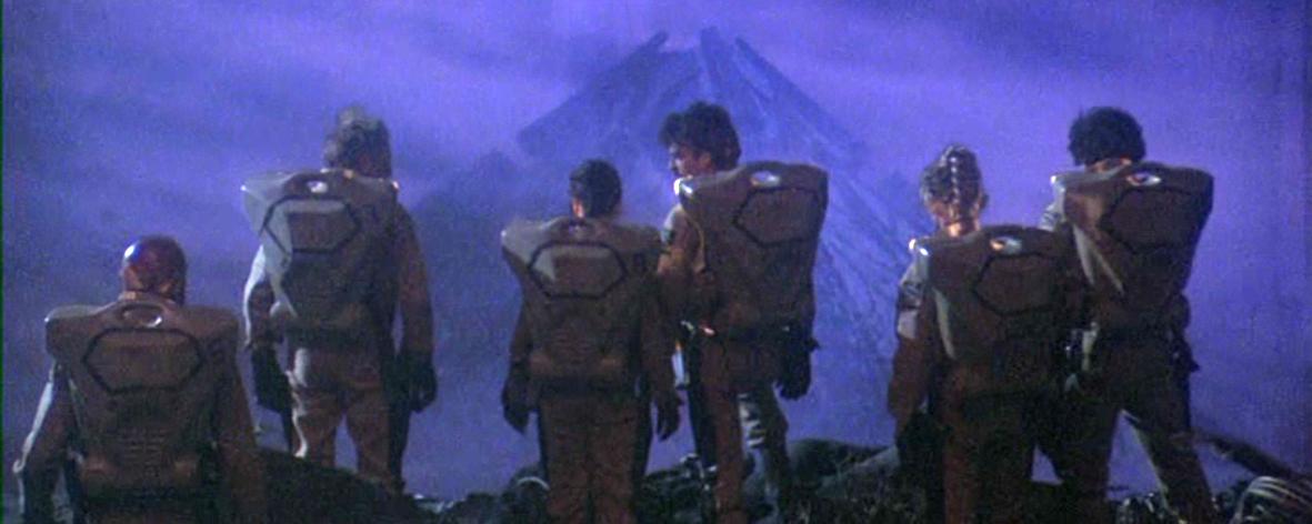 """Galaktyka Grozy"" (1981), reż. Bruce D. Clark"