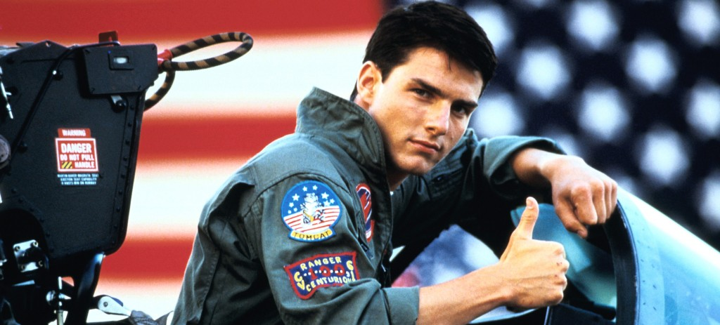 """Top GUn"" (1986), reż. Tony Scott"