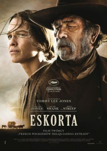 "Recenzja filmu ""Eskorta"" (2014), reż. Tommy Lee Jones"