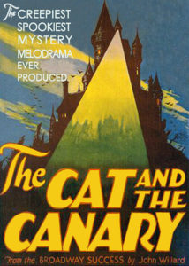 Kot i kanarek / The Cat and the Canary (1927), reż. Paul Leni