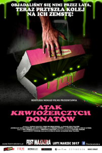Atak krwiożerczych donatów (2016) reż. Scott Wheeler