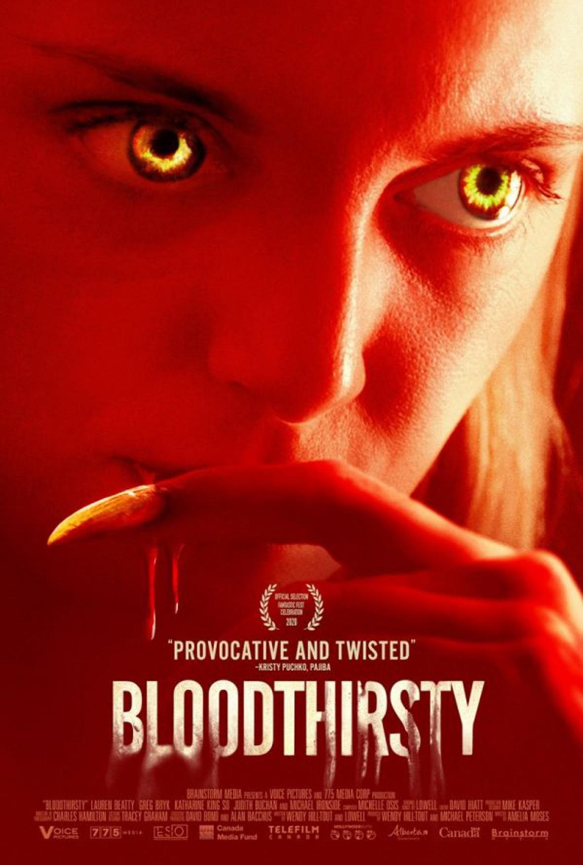 Bloodthirsty - zapowiedź - Po napisach | z pasją o filmach